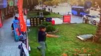 TEKEL BAYİSİ - Senet Çetesinin İş Yeri Sahibine Silahlı Saldırı Anları Kamerada