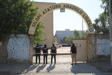 Silopi'de Okul Önlerinde Güvenlik Uygulaması