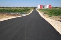 Siverek'te Yol Yapım Çalışmaları Sürüyor