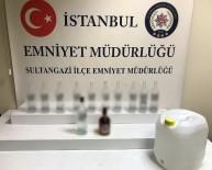 Sultangazi'de Minibüse Sahte İçki Baskını