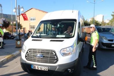 Yozgat'ta Okul Servisleri Denetlendi