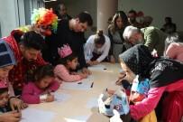 HARRAN ÜNIVERSITESI - Hasta Çocuklara Yeni Yıl Sürprizi