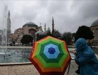 MARMARA BÖLGESI - İstanbul'da yağmur aralıklarla devam edecek