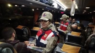 Jandarma Ekipleri Yeni Yıla Görev Başında Girdi