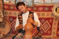 Kapadokya'da Çanak Ustaları Yeni Yıla Çalışarak Girdi