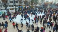 Kar Görmeyen Çocuklar İçin Kamyonlarla Kar Getirildi