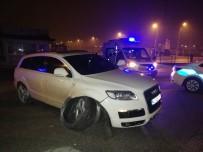 BUZDOLABı - Karaman'da Yeni Yılın İlk Trafik Kazası Ucuz Atlatıldı