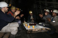 KADER - Madenciler Yerin 300 Metre Altında Yeni Yılı Kutladı