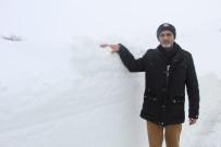 Merkezinde Kar Yok, İlçesinde Kar Kalınlığı 1 Metreyi Geçti