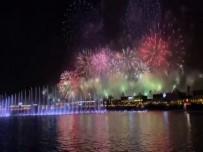 HAVAİ FİŞEK - Suudi Arabistan'da Yeni Yıl Coşkusu