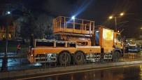 Tramvay Hattının Katener Teli Zarar Gördü, Seferler Durdu