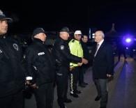 CEMAL ŞAHIN - Vali Köşger 2020 Yılını Güvenlik Güçleriyle Birlikte Karşıladı