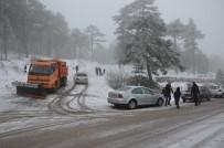 YILBAŞI TATİLİ - Yılbaşı Tatilini Kar Keyfiyle Geçirdiler