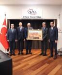 AVUSTURYA - Avusturya Büyükelçisi Wimmer'dan ATO Başkanı Baran'a Ziyaret