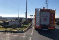 Balıkesir'de Trafik Kazası Açıklaması 4 Yaralı