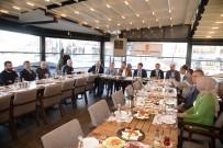 YEREL GAZETE - Başkan Çetin Gazetecilerle Kahvaltıda Buluştu