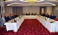 YAŞAR İSMAİL GEDÜZ - Başkan Ergün, Cumhur İttifakı'nın Belediye Başkanlarını Ağırladı
