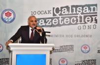 İSMAIL USTAOĞLU - Başkan Zorluoğlu Basın Mensupları İle Kahvaltıda Buluştu