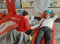 ALıŞKANLıK - Bozyazı'da Veliler Ve Öğretmenler Kan Bağışında Bulundu