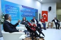 MERINOS - Bu Kez Başkan Sordu, Gazeteciler Cevapladı