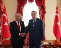 Cumhurbaşkanı Erdoğan KKTC Başbakanı Ersin Tatar İle Görüştü