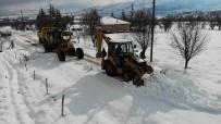 TAŞIMALI EĞİTİM - Elazığ'da Karla Mücadele