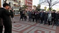 ÇEKIM - Haber Konusu Olan Gazeteciler Olunca, Fotoğrafları Belediye Başkanı Çekti