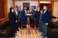İHH Eskişehir'den Rektör Çomaklı'ya Ziyaret