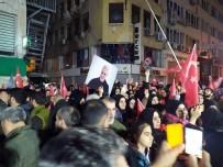 PROTESTO - Kasım Süleymani, İran Konsolosluğu Önünde Karanfillerle Anıldı