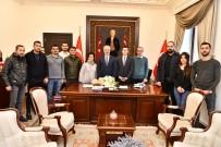 ÖMER SEYMENOĞLU - KGK'dan, Isparta Valisi Seymenoğlu'na 10 Ocak Ziyareti