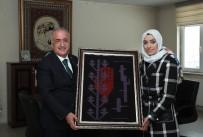 Milletvekili Taşkesenlioğlu, Halı Kilim Ve El Sanatları Uygulama Merkezini Ziyaret Etti