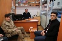 Polis Ve Jandarma'dan Gazetecilere Ziyaret
