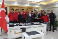 BASKETBOL TAKIMI - Sınav Koleji Basketbol Takımı, Bölge Turnuvasında Diyarbakır'ı Temsil Edecek
