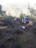 Burhaniye'de Söndürülmeden Bırakılan Avcı Ateşi Ormanı Yaktı
