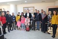 İŞİTME ENGELLİLER - Engellilerden Başkan Dutlulu'ya Destek Teşekkürü