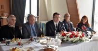 OKAY MEMIŞ - Erzurum Valisi Okay Memiş, Gazetecilerle Bir Araya Geldi