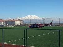 KALP AMELİYATI - Helikopter Ambulans Açık Kalp Ameliyatı Geçiren Vatandaş İçin Havalandı