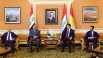 İSTİHBARAT BAŞKANI - Irak Başbakanı Abdulmehdi  Erbil'de