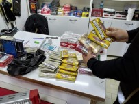 ALKOLLÜ İÇKİ - İzmir'de Binlerce Paket Kaçak Sigara Ele Geçirildi