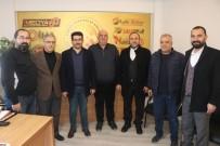 MUSTAFA ÇIFTÇI - Memur-Sen'den Küresel Gazeteciler Konseyi'ne Ziyaret