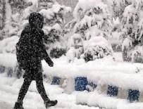 DOĞU KARADENIZ - Meteorolojiden 4 il için kar uyarısı yapıldı