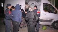 YUNANISTAN - Osmangazi Köprüsünde 48 Kaçak Göçmen Yakalandı