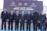 ENERJİ VE TABİİ KAYNAKLAR BAKANI - Siirt'te Lineer Metal Çinko Fabrikası'nın Temeli Atıldı
