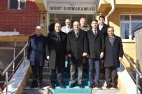 EĞİTİM MERKEZİ - THK Genel Başkanı Aşçı, İnönü'yü Ziyaret Etti