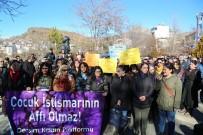 ÇOCUK İSTİSMARI - Tunceli'de Çocuk İstismarına Tepki