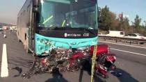 MİNİBÜS ŞOFÖRÜ - Ümraniye'deki Trafik Kazasına İlişkin Gözaltına Alınan Minibüs Şoförü Serbest Bırakıldı