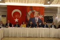 SPOR MERKEZİ - Vali Köşger, Gazeteciler İle Yemekte Buluştu