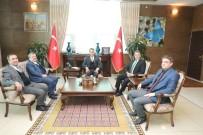 OKTAY ÇAĞATAY - Vali Oktay Çağatay, VEDAŞ Genel Müdürü Sami Kovancı'yı Makamında Ağırladı