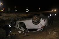 Yozgat'ta Trafik Kazası Açıklaması 2'Si Polis 4 Kişi Yaralandı