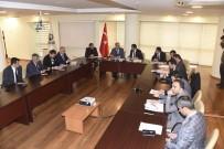 Başkan Altay Ve Başkan Kılca, Karatay'ın Yatırımları İçin Bir Araya Geldi